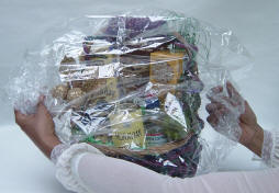 shrink wrap machine for gift baskets