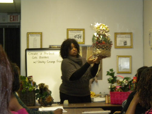 Gift Basket Business. Copyright Shirley George Frazier. All rights reserved.