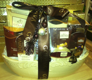 Five More Gifts to Offer with Gift Baskets, Shirley George Frazier. All rights reserved.