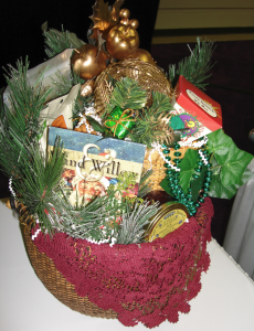 What You Learn from Holiday Gift Basket Ads, by Shirley George Frazier. All rights reserved.