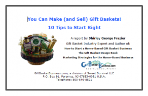 Gift Baskets, by Shirley George Frazier. All rights reserved.