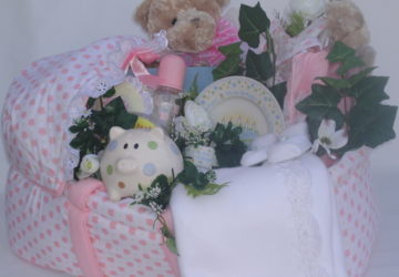 Baby Gift Baskets Get Extra-Special Care, by Shirley George Frazier. All rights reserved.
