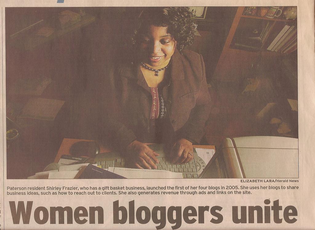 Social Media, GiftBasketBusiness.com, Shirley George Frazier.