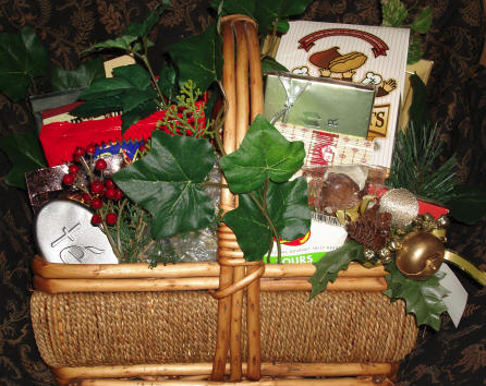 Three Ways to Handle Gift Basket Leftovers, by Shirley George Frazier. All rights reserved.