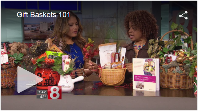 How to Get Your Gift Baskets on Television, by Shirley Frazier. All rights reserved.