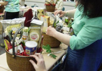 Where to Learn How to Make and Sell Gift Baskets, by Shirley George Frazier. All rights reserved.