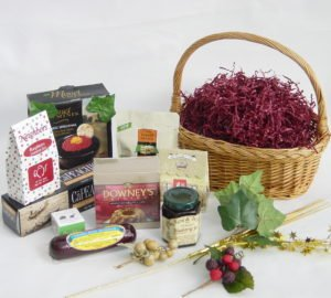 Your first gift basket, so easy, by Shirley George Frazier. All rights reserved.
