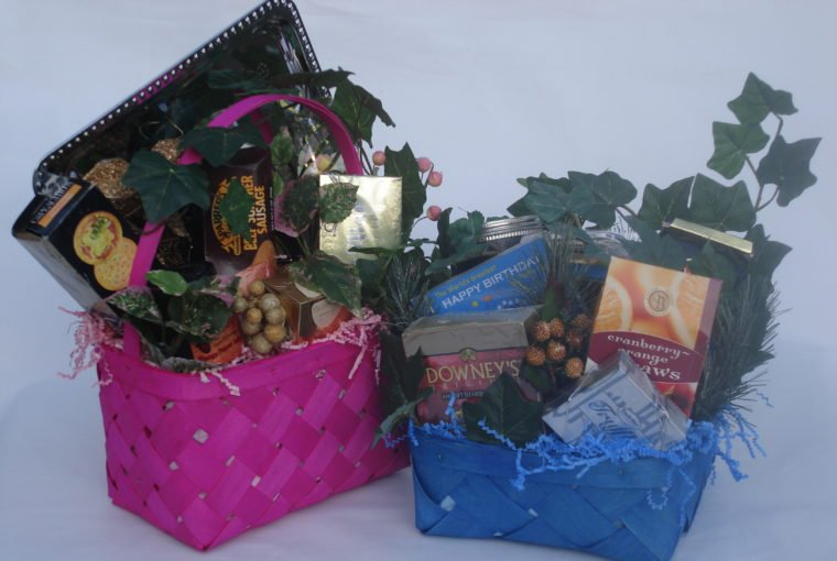 Why Friends Don't Buy Your Gift Baskets, by Shirley George Frazier. All rights reserved.