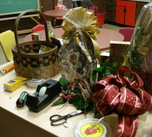 Your Gift Basket Disaster Plan, by Shirley George Frazier. All rights reserved.