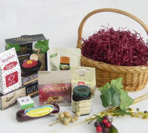 How to Make a Gift Basket, by Shirley George Frazier. All rights reserved.