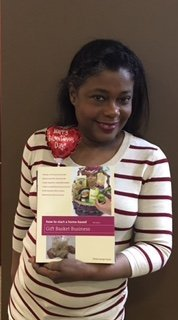 Person who bought, How to Start a Home-Based Gift Basket Book, by Shirley George Frazier.