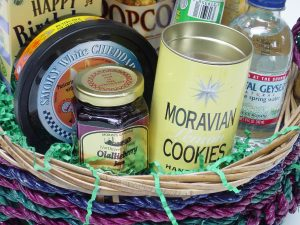 Gift Basket Marketing class, by Shirley George Frazier. All rights reserved.