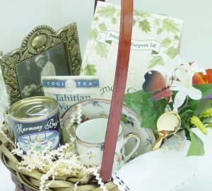 What to Put in a Sympathy Gift Basket, by Shirley George Frazier. All rights reserved.