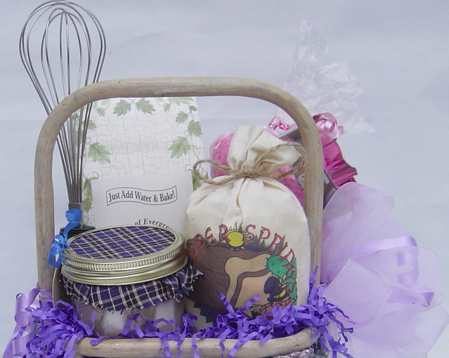 What to Put in a Cooking Gift Basket, by Shirley George Frazier. All rights reserved.