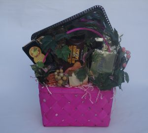 What to Put in a Birthday Gift Basket, by Shirley George Frazier. All rights reserved.